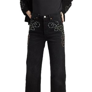 NWT LEVIS RIBCAGE STUDDED JEANS